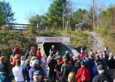 October 30, 2005 - Northern Rail Trail 1.7 Mile Opening