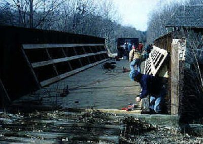 Rail Bed Bridge Decking c. 1998
