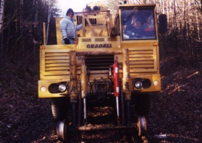 Rail Removal from Highland Lake to Dyers Crossing c. 2001??